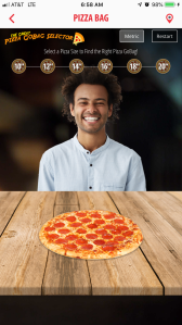 PizzaBagSelector