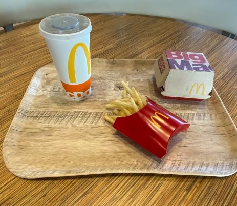 McD tray
